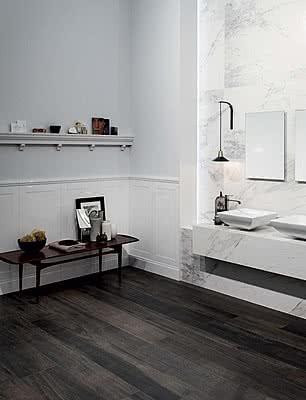 Piastrelle in gres porcellanato wooden tile di casa dolce - Piastrelle casa dolce casa ...