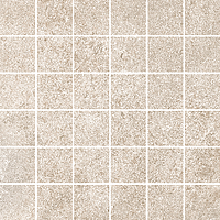 Cerdisa Reden 52511_RedenMosaico5X5Ivory , Patchwork style style, Concrete effect effect, Bedroom, Outdoors, Public spaces, Bathroom, Living room, Unglazed porcelain stoneware, wall & floor, Slip-resistance R10, R11, Polished surface, Matte surface, Rectified edge, Shade variation V3
