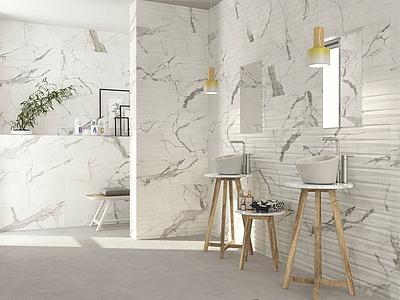 Statuario Ceramic And Porcelain Tiles By Cifre Tile