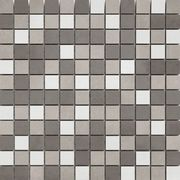 Cifre Ceramica Trace Mosaico Trace Cold , Bathroom, Concrete effect effect, Ceramic Tile, wall, Glossy surface, non-rectified edge, Shade variation V2