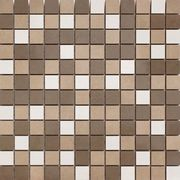 Cifre Ceramica Trace Mosaico Trace Warm , Bathroom, Concrete effect effect, Ceramic Tile, wall, Glossy surface, non-rectified edge, Shade variation V2