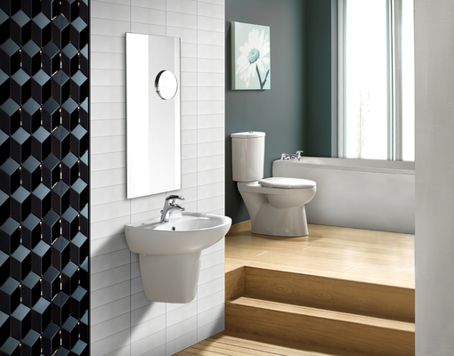 Cobsa 3d 1 Bathroom Effect Ceramic Tile