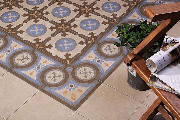 Piastrelle in gres porcellanato retro di codicer tile expert