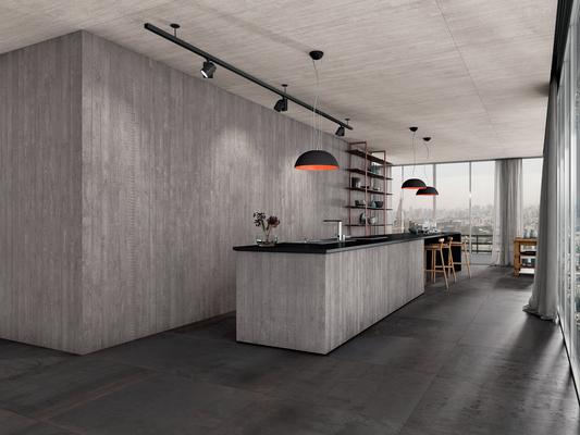 Piastrelle in gres porcellanato Kerlite Cement Project di Cotto d ...