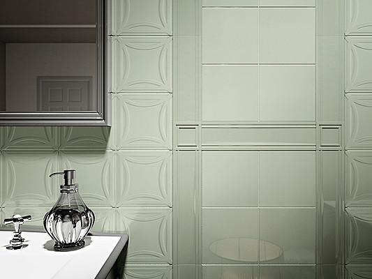 Piastrelle in ceramica agatha di decoratori bassanesi. tile.expert