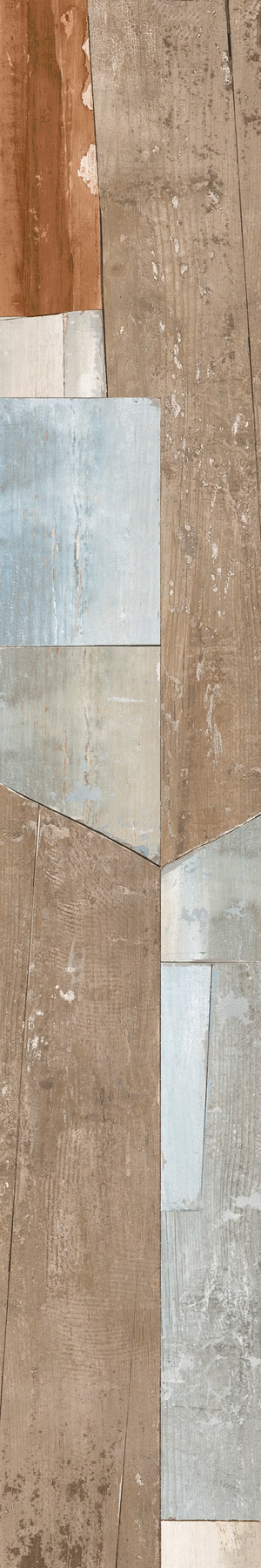 Ceramica Del Conca AR Artelegno Warhol Rett. 20x120 , Bathroom, Living room, Public spaces, Wood effect effect, Glazed porcelain stoneware, wall & floor, Matte surface, Semi-polished surface, non-rectified edge, Rectified edge, Shade variation V4