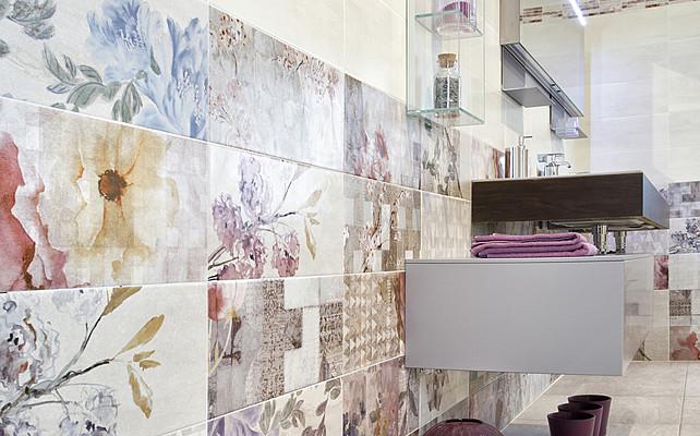 Piastrelle in ceramica BS Giverny di Del Conca. Tile.Expert ...