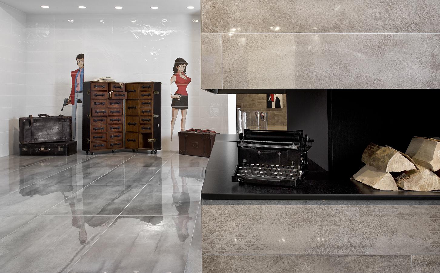 Bg18 bianco 20 50 bg bellagio di del conca tile expert for Lupin arredamenti