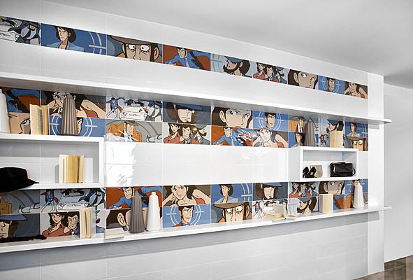 Piastrelle in ceramica lupin di del conca tile expert for Lupin arredamenti