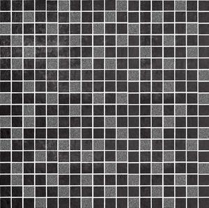 DSG Ceramiche Diamond DI300GH_MOSAICS Glitter GRAPHITE , Kitchen, Bathroom, Concrete effect effect, Unglazed porcelain stoneware, wall & floor, Matte surface, Rectified edge, Shade variation V1