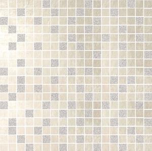 DSG Ceramiche Diamond DI300GW_MOSAICS Glitter WHITE , Kitchen, Bathroom, Concrete effect effect, Unglazed porcelain stoneware, wall & floor, Matte surface, Rectified edge, Shade variation V1