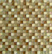 Dune Ceramica Emphasis Materia 185023_MosaicoOnix-Glass , Public spaces, Bathroom, Living room, Bedroom, Outdoors, Oriental style style, Metal effect effect, wall & floor, non-rectified edge, Honed surface, Matte surface, Ceramic Tile, Natural Stone