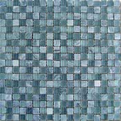 Dune Ceramica Emphasis Materia 185024_MosaicoGrey-Glass , Public spaces, Bathroom, Living room, Bedroom, Outdoors, Oriental style style, Metal effect effect, wall & floor, non-rectified edge, Honed surface, Matte surface, Ceramic Tile, Natural Stone