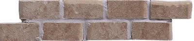 Elios Ceramica Ciottoli 01Q6165_Lis.CiottoliWallNoce5X20 , Kitchen, Provence style style, Ceramic Tile, wall & floor, Glossy surface, non-rectified edge
