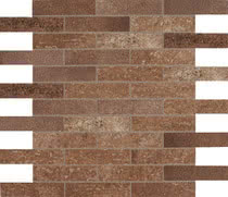 Elios Ceramica Earth 0210221_EarthMos.2,5X10Sanp.Sfals. , Public spaces, Bathroom, Kitchen, Stone effect effect, Provence style style, Antique style style, Unglazed porcelain stoneware, Glazed porcelain stoneware, wall, floor, non-rectified edge, Matte surface