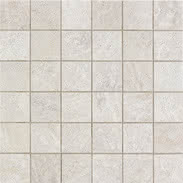 Elios Ceramica Earth 0210500_EarthMos.5X5Bianco , Public spaces, Bathroom, Kitchen, Stone effect effect, Provence style style, Antique style style, Unglazed porcelain stoneware, Glazed porcelain stoneware, wall, floor, non-rectified edge, Matte surface
