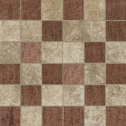 Elios Ceramica Earth 0210555_EarthMos.5X5Col.Caldi , Public spaces, Bathroom, Kitchen, Stone effect effect, Provence style style, Antique style style, Unglazed porcelain stoneware, Glazed porcelain stoneware, wall, floor, non-rectified edge, Matte surface