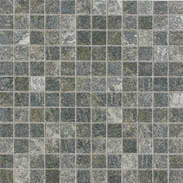 Elios Ceramica Earth 0212215_EarthMos.2,5X2,5Verde , Public spaces, Bathroom, Kitchen, Stone effect effect, Provence style style, Antique style style, Unglazed porcelain stoneware, Glazed porcelain stoneware, wall, floor, non-rectified edge, Matte surface