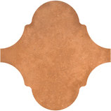 Equipe Ceramicas Curvytile 21782_Cotto Clay , Living room, Public spaces, Kitchen, Outdoors, Bedroom, Patchwork style style, Terracotta effect effect, Glazed porcelain stoneware, wall & floor, Matte surface, non-rectified edge