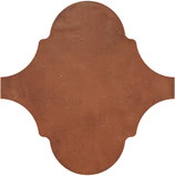 Equipe Ceramicas Curvytile 21784_Cotto Chestnut , Living room, Public spaces, Kitchen, Outdoors, Bedroom, Patchwork style style, Terracotta effect effect, Glazed porcelain stoneware, wall & floor, Matte surface, non-rectified edge