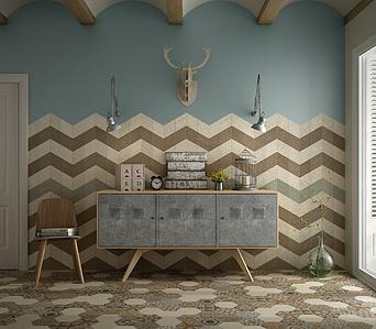 Rhombus Porcelain Tiles By Equipe Tile Expert