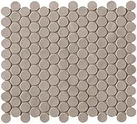 FAP Ceramiche Boston fK5V_BostonCementoMosaicoRound , Living room, Bathroom, Kitchen, Public spaces, Brick effect effect, Glazed porcelain stoneware, wall & floor, Matte surface, non-rectified edge, Shade variation V1