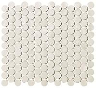 FAP Ceramiche Boston fK5W_BostonGessoMosaicoRound , Living room, Bathroom, Kitchen, Public spaces, Brick effect effect, Glazed porcelain stoneware, wall & floor, Matte surface, non-rectified edge, Shade variation V1