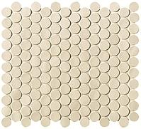 FAP Ceramiche Boston fK5Z_BostonSabbiaMosaicoRound , Living room, Bathroom, Kitchen, Public spaces, Brick effect effect, Glazed porcelain stoneware, wall & floor, Matte surface, non-rectified edge, Shade variation V1