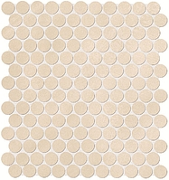 FAP Ceramiche Color Now fMTW_ColorNowBeigeRoundMosaico , Bathroom, Public spaces, Kitchen, Ceramic Tile, wall, Matte surface, Rectified edge, non-rectified edge, Shade variation V1