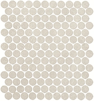 FAP Ceramiche Color Now fMUB_ColorNowPerlaRoundMosaico , Bathroom, Public spaces, Kitchen, Ceramic Tile, wall, Matte surface, Rectified edge, non-rectified edge, Shade variation V1
