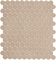 FAP Ceramiche Color Now fMUC_ColorNowTortoraRoundMosaico , Bathroom, Public spaces, Kitchen, Ceramic Tile, wall, Matte surface, Rectified edge, non-rectified edge, Shade variation V1