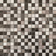 FAP Ceramiche Creta fK5R_CretaMadreperlaMosaico , Kitchen, Living room, Bathroom, 3D effect effect, Brick effect effect, Patchwork style style, Ceramic Tile, wall, Matte surface, Rectified edge, Shade variation V2