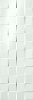 FAP Ceramiche Lumina fK1A_Lumina75Square , Bathroom, Kitchen, Public spaces, Living room, 3D effect effect, Unicolor, Ceramic Tile, wall, Matte surface, Glossy surface, Rectified edge, non-rectified edge, Shade variation V1
