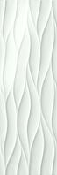 FAP Ceramiche Lumina fK1B_Lumina75Curve , Bathroom, Kitchen, Public spaces, Living room, 3D effect effect, Unicolor, Ceramic Tile, wall, Matte surface, Glossy surface, Rectified edge, non-rectified edge, Shade variation V1
