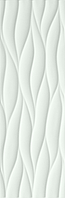 FAP Ceramiche Lumina fLMR_Lumina75CurveMattWhite , Bathroom, Kitchen, Public spaces, Living room, 3D effect effect, Unicolor, Ceramic Tile, wall, Matte surface, Glossy surface, Rectified edge, non-rectified edge, Shade variation V1