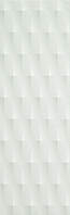 FAP Ceramiche Lumina fLMS_Lumina75DiamanteMattWhite , Bathroom, Kitchen, Public spaces, Living room, 3D effect effect, Unicolor, Ceramic Tile, wall, Matte surface, Glossy surface, Rectified edge, non-rectified edge, Shade variation V1
