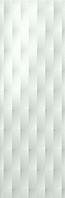 FAP Ceramiche Lumina fLMU_Lumina75DiamanteGlossWhite , Bathroom, Kitchen, Public spaces, Living room, 3D effect effect, Unicolor, Ceramic Tile, wall, Matte surface, Glossy surface, Rectified edge, non-rectified edge, Shade variation V1