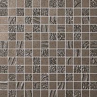 FAP Ceramiche Meltin fKRQ_MeltinTerraMosaico , Living room, Kitchen, Bathroom, Concrete effect effect, 3D effect effect, Fabric (wallpaper) effect effect, Ceramic Tile, wall, Matte surface, Rectified edge, non-rectified edge, Shade variation V1