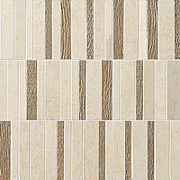 FAP Ceramiche Meltin fKSP_MeltinTrattoSabbiaMosaico , Living room, Kitchen, Bathroom, Concrete effect effect, 3D effect effect, Fabric (wallpaper) effect effect, Ceramic Tile, wall, Matte surface, Rectified edge, non-rectified edge, Shade variation V1
