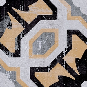 Ceramica Fioranese Cementine 20 IND20C2_Cementina_2 , Kitchen, Bathroom, Designer style style, Patchwork style style, Silvia Stanzani, Faux encaustic tile effect, PEI IV, Glazed porcelain stoneware, wall & floor, Matte surface, Rectified edge, Shade variation V2, V4