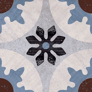 Ceramica Fioranese Cementine 20 IND20C4_Cementina_4 , Kitchen, Bathroom, Designer style style, Patchwork style style, Silvia Stanzani, Faux encaustic tile effect, PEI IV, Glazed porcelain stoneware, wall & floor, Matte surface, Rectified edge, Shade variation V2, V4