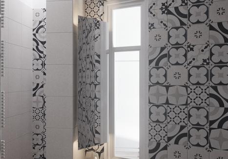 Tile Fioranese Cementine Black&White