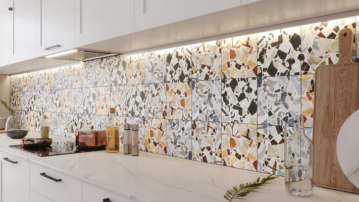 Cementine cocci porcelain tiles by fioranese tile expert