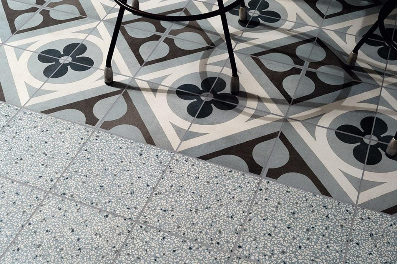 Fioranese Cementine Retro 6, Badezimmer, Öffentliche Räume, Küche, Stil