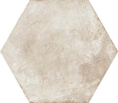 Ceramica Fioranese Heritage HE201EX_Exagona , Bathroom, Outdoors, Designer style style, Silvia Stanzani, Terracotta effect effect, PEI IV, Glazed porcelain stoneware, wall & floor, Matte surface, Slip-resistance R11, non-rectified edge, Shade variation V4