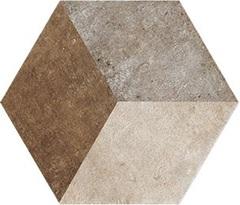 Ceramica Fioranese Heritage HET2EX , Bathroom, Outdoors, Designer style style, Silvia Stanzani, Terracotta effect effect, PEI IV, Glazed porcelain stoneware, wall & floor, Matte surface, Slip-resistance R11, non-rectified edge, Shade variation V4