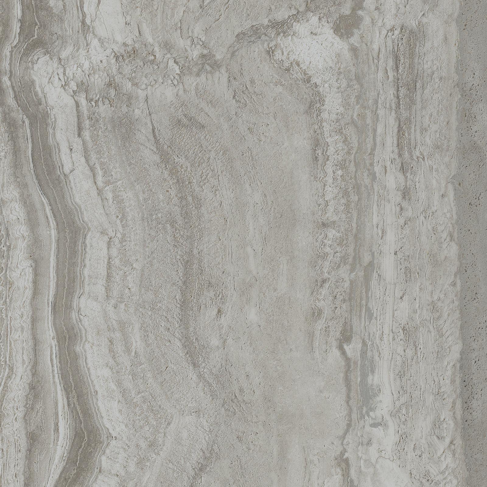 Background tile Navona by Flaviker, Unglazed porcelain stoneware, 80x80 cm, Surface Finish antislip, Effect stone, Color grey,