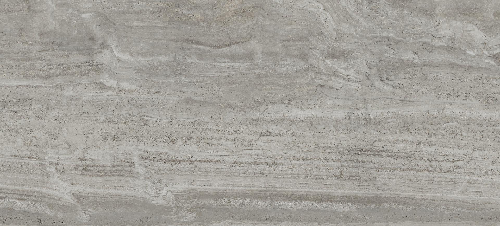 Background tile Navona by Flaviker, Unglazed porcelain stoneware, 120x270 cm, Surface Finish antislip, Effect stone, Color grey,