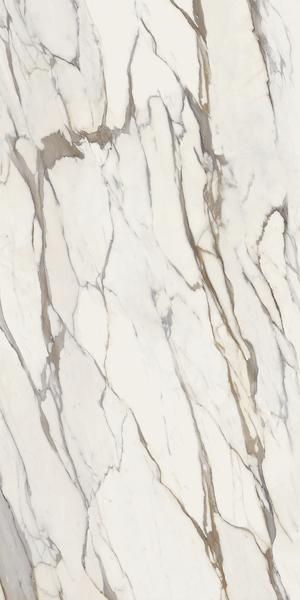 Ceramica Fondovalle Infinito 2.0 INF518_Infinito2.0CalacattaGoldGlossy120*240 , Séjour, Salle de bain, Cuisine, Espace public, Chambre à coucher, Effet effet pierre, style Style patchwork, style Style moderne, Grès cérame non-émaillé, revêtement mur et sol, Bord rectifié, Grès cérame de faible épaisseur, Surface polie, Variation de nuances V2
