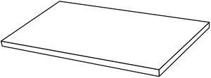 Ceramica Fondovalle Infinito 2.0 INF598_Infinito2.0GradinoAngolareLincolnGlossy_33*120*5 , Séjour, Salle de bain, Cuisine, Espace public, Chambre à coucher, Effet effet pierre, style Style patchwork, style Style moderne, Grès cérame non-émaillé, revêtement mur et sol, Bord rectifié, Grès cérame de faible épaisseur, Surface polie, Variation de nuances V2